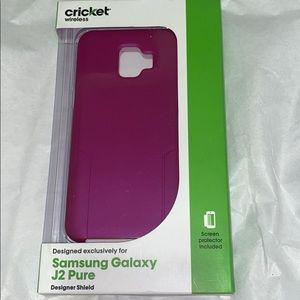 💜Samsung Galaxy J2 Pure Designer Shield Hard Case